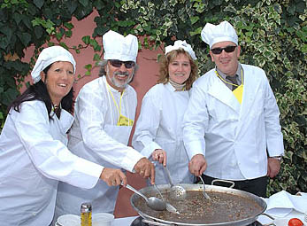 Paella cookery course